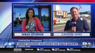 Live from Canton, Ohio: Jerry Kramer gets his gold jacket