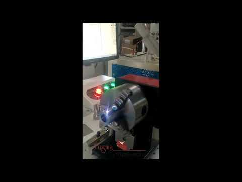 YI-LF20CY Fiber Laser Marking Machine With Rotary Pune