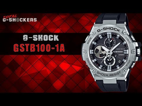 Casio G-SHOCK G-STEEL GSTB100-1A | G Shock GSTB100 Top 10 Things Watch Review