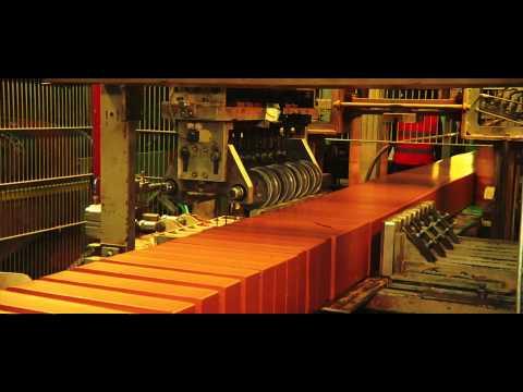 Reportaje fabricación de ladrillos cara vista en Fabricando Made in Spain de TVE1