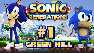Sonic Generations PC - () Part 1 - Green Hill Zone