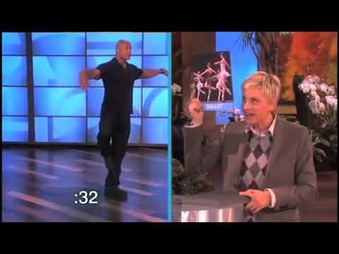 Dwayne 'The Rock' Johnson tancuje