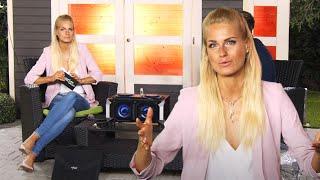 Anne-Kathrin Kosch hat auch am See eine Steckdose! Bei PEARL TV (Juni 2020) 4K UHD