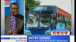 News Center discussion:  Matatu ban from the CBD and its effects Part 2