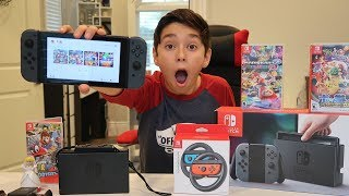 Nintendo Switch Unboxing + Review
