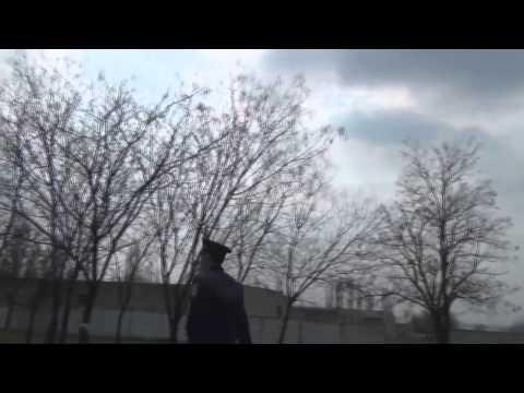 Курение в общественном месте от прапорщика МВД!!!