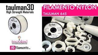 Review filamento Nylon Taulman 645 | Impresión 3D profesional