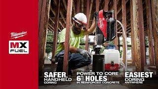 Watch Milwaukee MX FUEL Handheld Core Drill