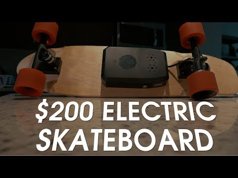 CHEAP Electric Skateboard – $200 #Alouette Electric Skateboard Review