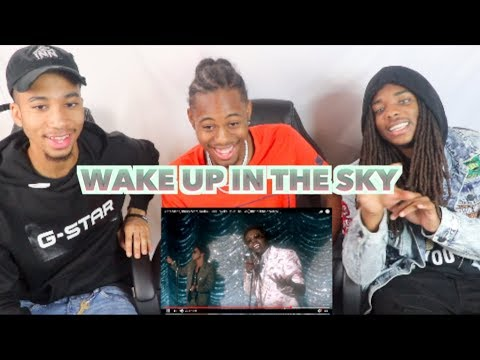 Gucci Mane, Bruno Mars, Kodak Black - Wake Up in The Sky [Official Music Video]- REACTION!