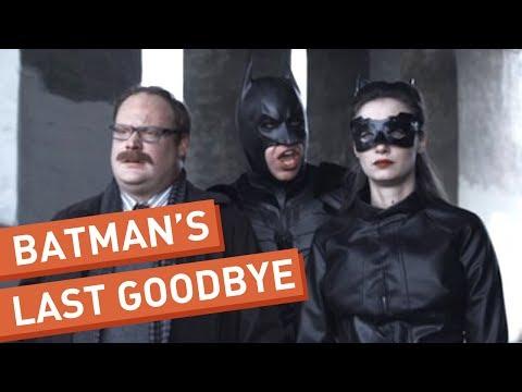 Batman říká své poslední sbohem