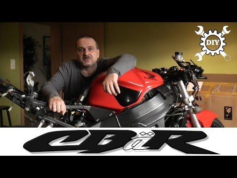 Motorrad-Verkleidung tauschen - China-Verkleidung im Test, Teil 1