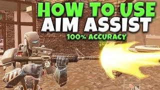 How To Use Aim Assist On Console | Hit Your Shots