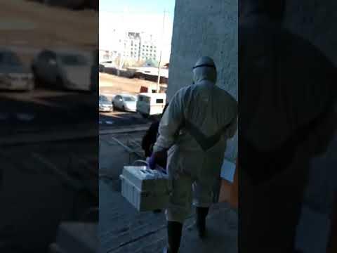 Житель Якутска угрожал пришедшему забирать анализы на коронавирус медику физической расправой