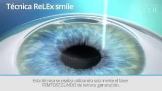 Técnica ReLEx SMILE - Centro Oftalmológico Integral - Centro Oftalmológico Integral