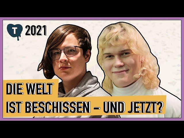 Vorschaubild zur Session 'Die Welt ist beschissen - und jetzt?'