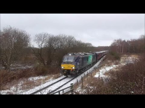 Direct Rail Services 88005 in action at the Bo'ness Winter D…