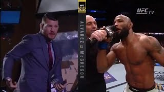 BEST UFC POST-FIGHT OCTAGON CALLOUTS/MOMENTS