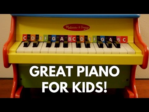 Best Toddler Piano? – Melissa & Doug Learn-To-Play Piano Review!