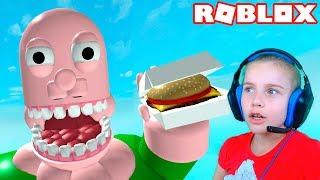 ПОБЕГ ОТ ЕДЫ в Роблокс приключение мульт героя в еде Roblox