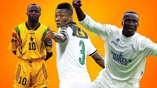 Top 10 Ghanaian footballers of all time