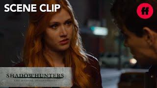 Shadowhunters | Season 1, Episode 9: Luke & Clary Comfort a Worried Simon | Freeform