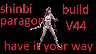 Paragon shinbi build v43 SHINBI !!! DECK FOR BEST ASSASSIN!!!