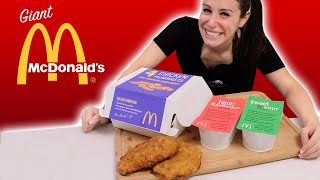 DIY McDONALDS GIANT 4 PC 🐓 McNUGGETS