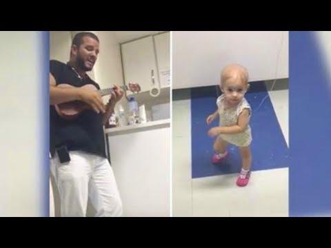Video des angeregten Mädchens
