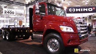 2019 Hino XL8 Truck - Exterior And Interior Walkaround - 2018 Truckworld Toronto