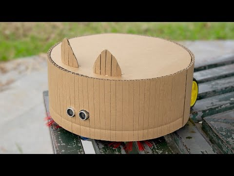 DIY How to Make Amazing Robot Vacuum Cleaner