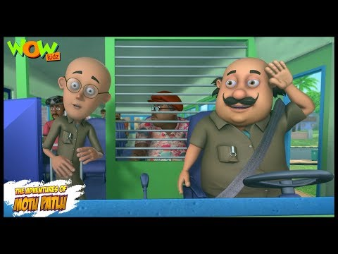 Motu Patlu New Episode | Cartoons | Kids TV Shows | Motu Patlu The Bus Driver | Wow Kidz