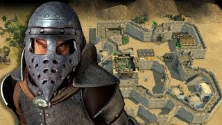 Stronghold Crusader 2 Skirmish - The Rat vs SergiuHellDragoonHQ
