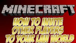 How to invite friends in minecraft ps4