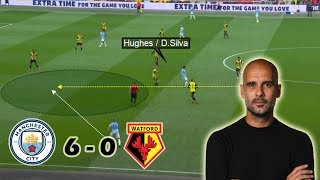 Man City Complete Domestic Treble | Man City Vs Watford 6-0 | Tactical Analysis
