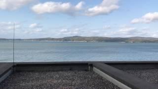 和倉温泉ゆけむりの宿美湾荘部屋の露天風呂からの眺め
