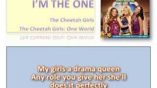 I'm The One - Cheetah Girls with Lyrics on Screen