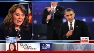 Candy Crowley ADMITS Romney Was Right On Libya