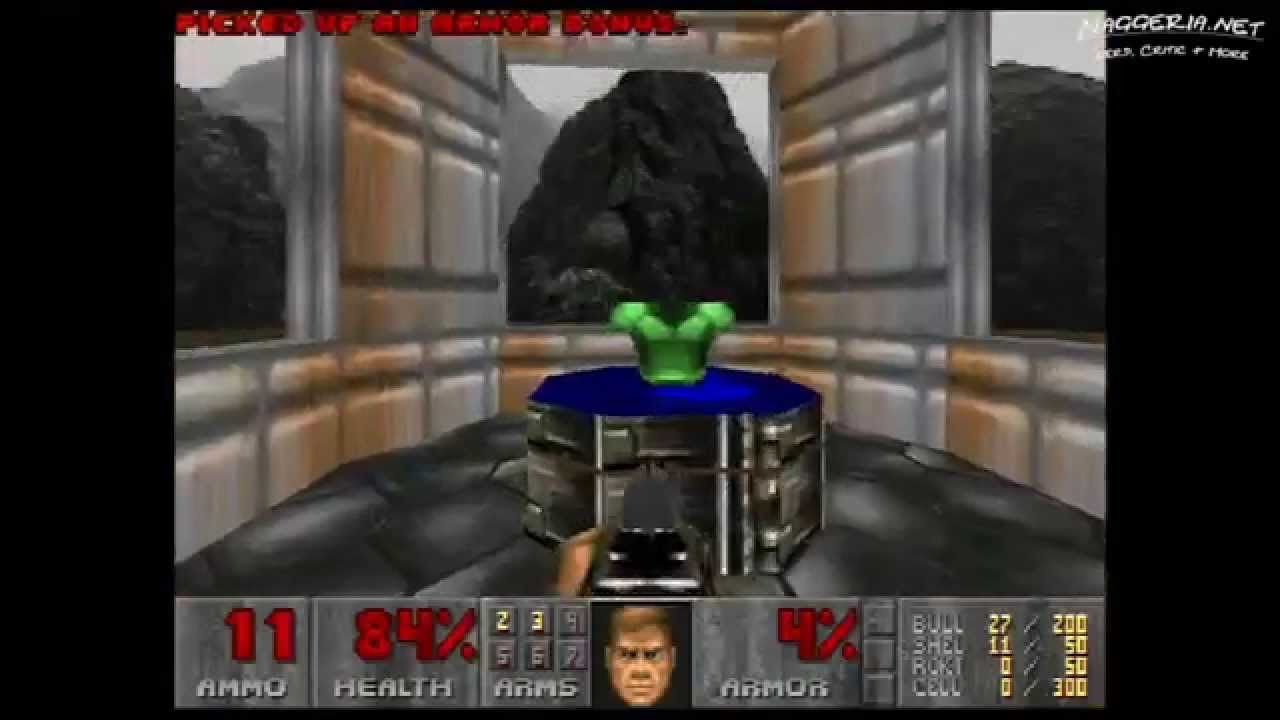 "Doom (E1M1 ""Hangar"") Walkthrough – Ultra-Violence"