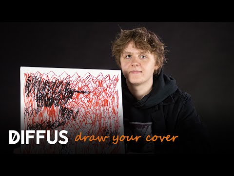 We made Lewis Capaldi draw his Divinely Uninspired To A Hellish Extent Album Cover | DRAW YOUR COVER