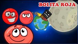 La Bolita Roja en la Luna | Juego para niños Red Ball 4 | Juegos Infantiles para niños