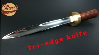 Making the Forbidden Tri-edge Dagger Knife
