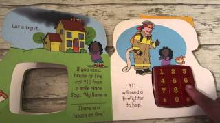 It's Time To Call 911 what kids should do in an emergency read aloud book