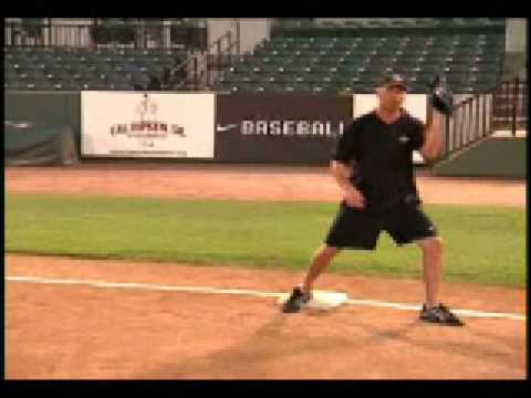 How to Play First base  Teaching Baseball to Kids
