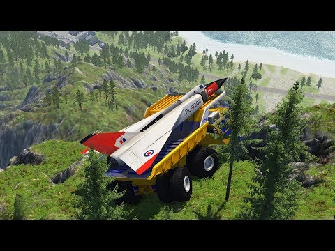 Extreme Cliff Crashes #1 - BeamNG Drive