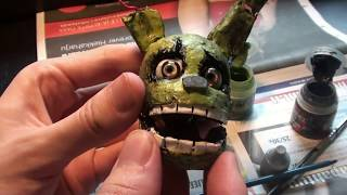 MAKING OF SPRINGTRAP FIGURE From Five Nights At Freddy