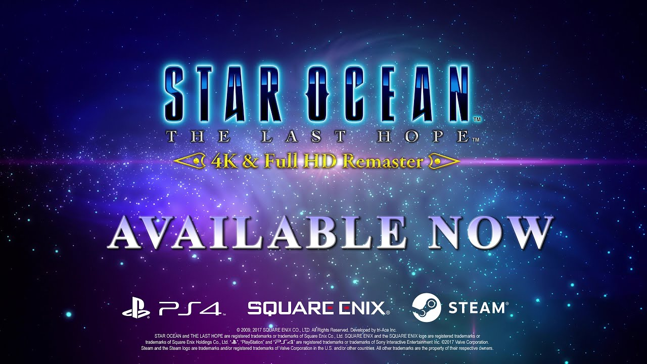 Video STAR OCEAN™ - THE LAST HOPE ™ - 4K & Full HD Remaster [PC DOWNLOAD]