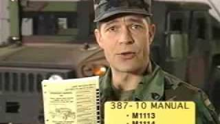 HMMWV Driver's Familiarization part 1