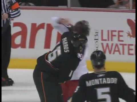 George Parros vs. Jared Boll