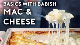 "Head to http://bit.ly/squarespacebabish to save 10% off your first purchase of a website or domain using code BABISH.  This week on Basics, I'm showing you a few different ways to make mac and cheese: the comfort food you just need sometimes.  Music by Chillhop: http://chillhop.com/listen Blue Wednesday - ""'90s Kid"", ""Murmuration (feat. Shopan)"" https://soundcloud.com/bluewednesday Listen on Spotify: http://bit.ly/ChillhopSpotify"
